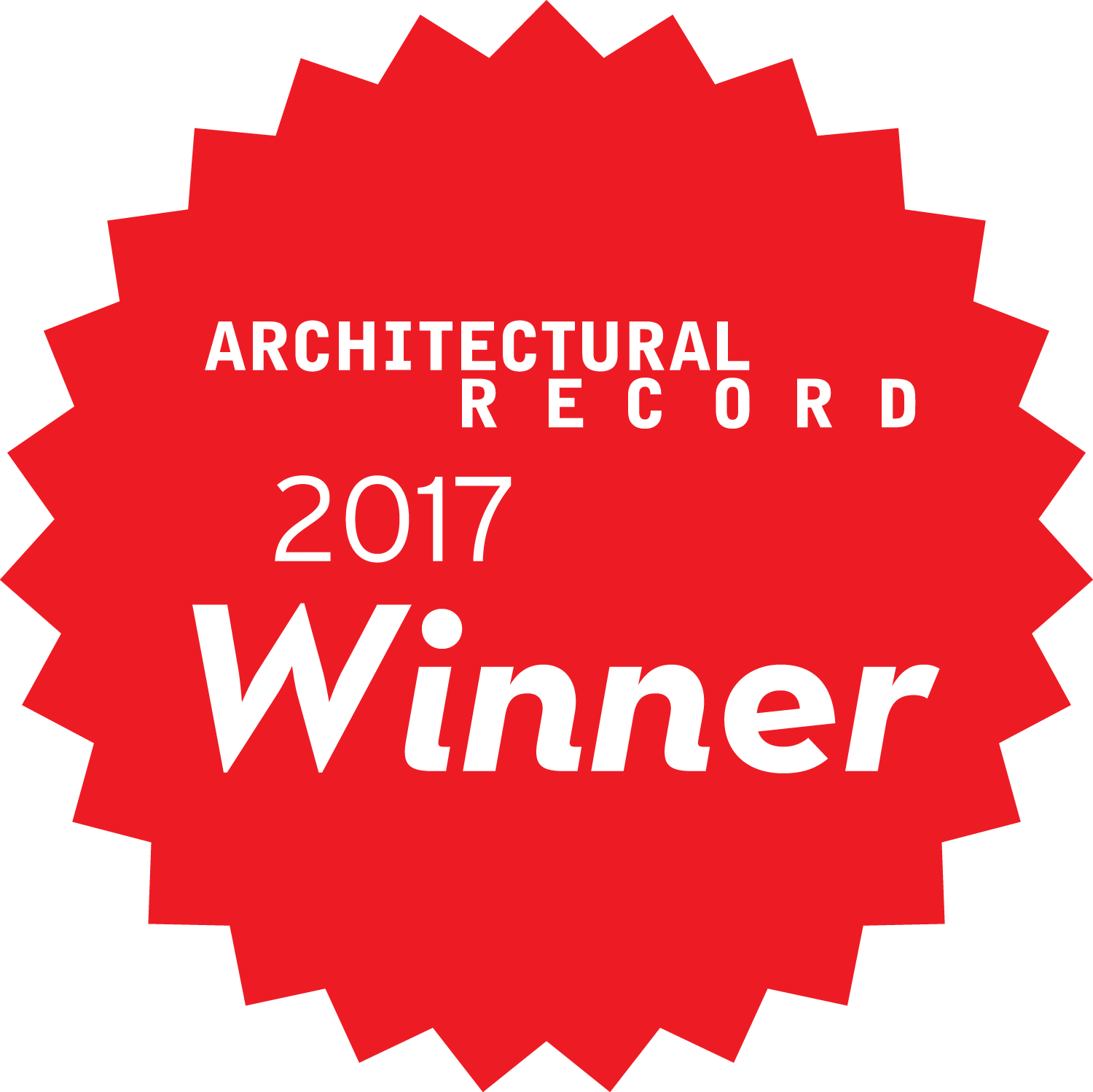 Architectural Products 2017 Award Winner Logo